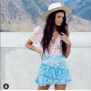 Love shack fancy dupe dress